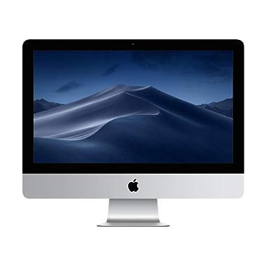 Apple iMac (21.5 Retina 4K display: 3.4GHz quad-core Intel Core i5, 8GB RAM, 1TB Fusion Drive) - Silver  (Previous Model)