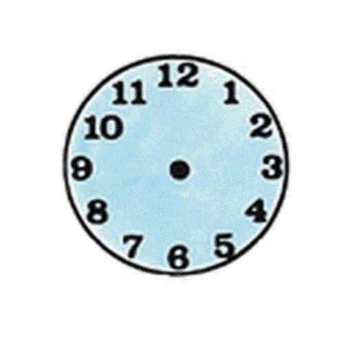 Center Enterprise CE458 ''SMALL CLOCK'' Stamp by Center Enterprise (Image #1)