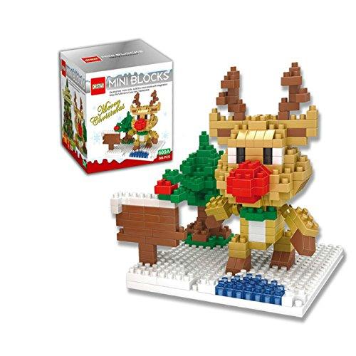 Gift for Kids Reindeer Mini Building Blocks FiguresToy for - Webkinz Reindeer
