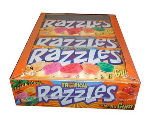 Tropical Razzles Candy (24 count)
