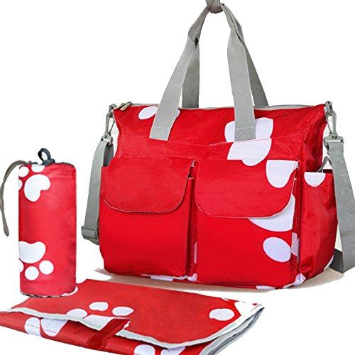 Multi Function Baby Diaper Nappy Changing Bag Changing Mat Mummy Tote Handbag HC HCMB002