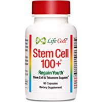 Stem Cell 100+: Multi-Pathway Anti-Aging & Regeneration Supplement Supports Stem Cells, Telomeres, More…