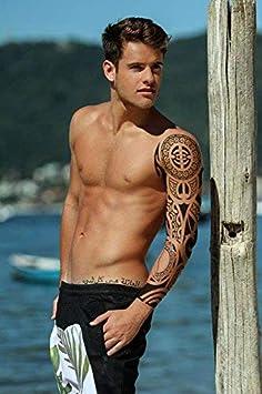 Manga de tatuaje temporal, realista, transferencia, pegatina ...