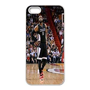 Unique Phone Case Pattern 14Miami Heat Dwayne Wade #3 Action Shot Phone Case- For Apple Iphone 5 5S Cases