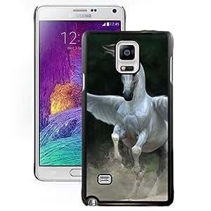 Beautiful And Unique Designed With Pegasus Horse Wings For Samsung Galaxy Note 4 N910A N910T N910P N910V N910R4 Phone Case