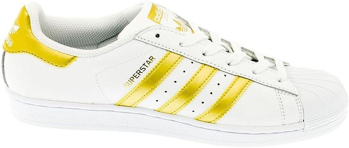 Tía Defectuoso Contratar  Zapatilla ADIDAS Superstar Blanco/Dorado: Amazon.es: Zapatos y complementos