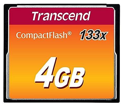 PAMIĘĆ Compact Flash TRANSCEND 4GB 133X