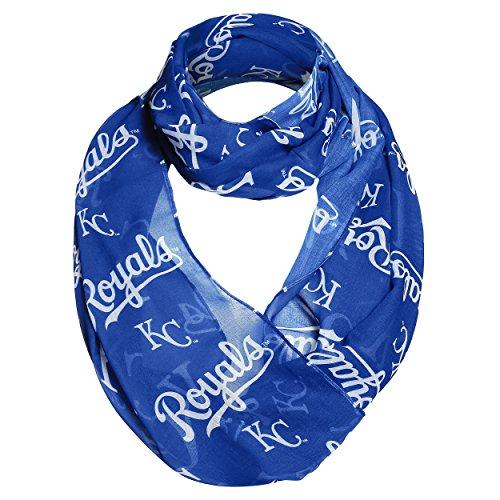 Kansas City Royals 2016 Team Logo Infinity Scarf