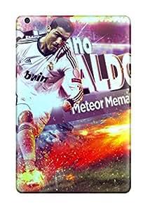 Cute Appearance Cover/tpu BAAGmoL6167bPMUy Cristiano Ronaldo Real Madrid Case For Ipad Mini/mini 2