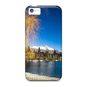 Hot Tpye Lake Wakatipu Case Cover For Iphone 5c