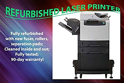 HP Products - HP - LaserJet M4345xs Laser Duplex Printer/Copier/Color Scanner/Fax - Sold As 1 Each - Delivers 45 b/w printed pages/min. - 1200 x 1200 dpi resolution. - First page out in 10 seconds. - Auto duplexing. - Network Ready