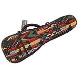 MUSIC FIRST Cotton Woven''THE NATIVE'' Vintage Style Ukulele case ukulele bag ukulele gig bag (26~27 inch Tenor, The Native)