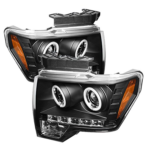 Spyder Auto Ford F150 Black CCFL LED Projector Headlight Ccfl Led Projector Headlights