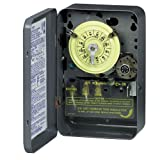 Intermatic T174 DPST 24 Hour 208-277-Volt Time Switch with Type 1 Indoor Enclosure