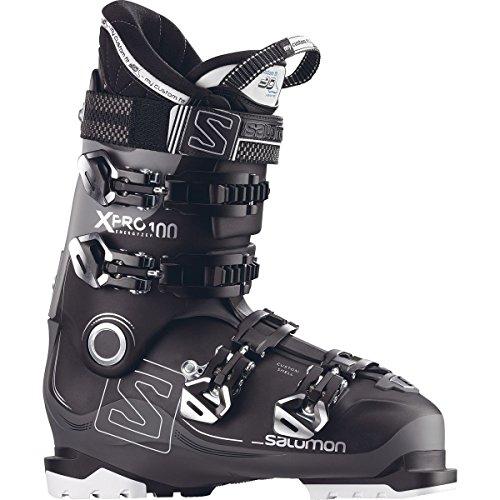 Salomon X-Pro 100 Ski Boots 2018-27.5/Black-Anthracite-Light Grey