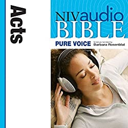 NIV New Testament Audio Bible, Female Voice Only: Acts