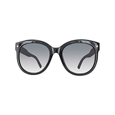e9202b981705c Balenciaga Lunettes de soleil femme BA0038D SHINY BLACK SMOKE ...