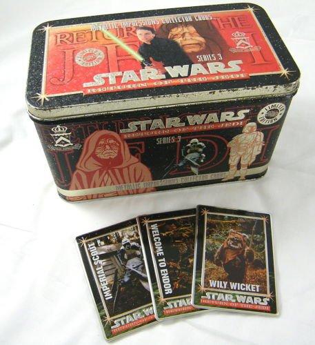 Star Wars Return of the Jedi Trading Cards Tin Series III