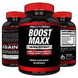 BoostMAXX Male Enhancement Pills   Enhancing Libido, Drive, Performance, Boost Testosterone   Horny