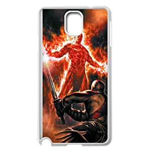 Samsung Galaxy Note 3 Cell Phone Case White god of war typo phone covers vgfj7104328
