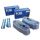 Foss Explosion-Proof Inner Tubes - 26 x 1.35-1.75, Schrader Valve (2 Pack)