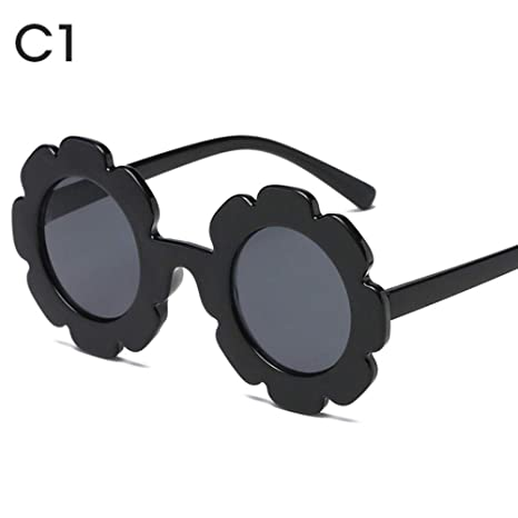 HPPL Gafas de Sol Infantiles Vintage Gafas de Sol para niños ...