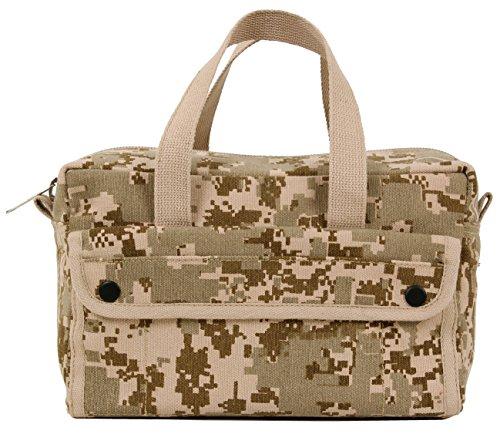 Rothco G.I. Type Mechanics Tool Bags, Desert Digital Camo