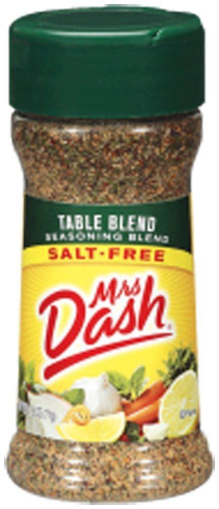 Mrs. Dash TABLE BLEND Salt-Free Seasoning 2.5oz (3 Pack)