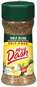 Mrs. Dash TABLE BLEND Salt-Free Seasoning 2.5oz (3 Pack)