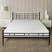 Best Price Mattress 7 Gel Memory Foam Mattress & Easy Set-Up Steel Platform Bed/Steel Bed Frame Set, Full