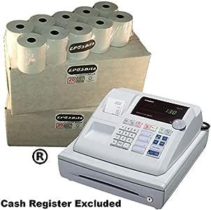 eposbits® marca 40 rollos – 2 cajas para Casio 130 CR 130 CR caja ...