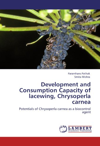 Development and Consumption Capacity of lacewing, Chrysoperla carnea: Potentials of Chrysoperla carnea as a biocontrol agent