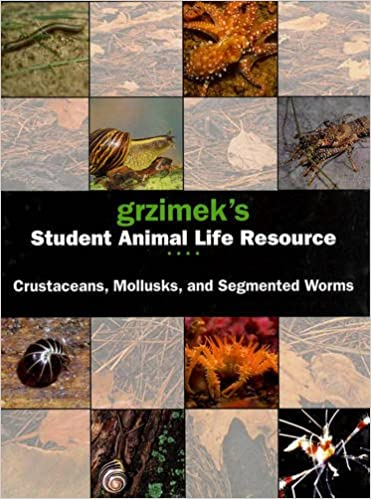 Grzimeks Student Animal Life Resource. Crustaceans, Mollusks, And Segmented Worms