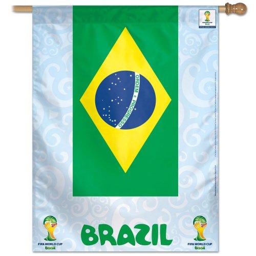 FIFA World Cup Team Brazil Banner Flag
