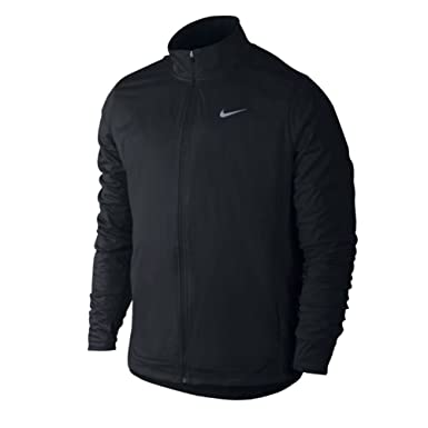 f012c824a6 Amazon.com  Nike Shield Men s Running Jacket Black 917966 010 (Large ...