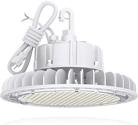 UFO LED High Bay Light 250W 200W 150W 100W 60W Warehouse Lighting White//Black-UL