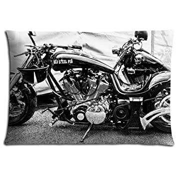 Kissenhülle Kissenbezug Motivkissen Motorrad Harley-Davidson classic
