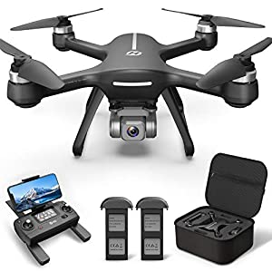 Flashandfocus.com 51WqkcjIlPL._SS300_ Holy Stone HS700E 4K UHD Drone with EIS Anti Shake 130°FOV Camera for Adults, GPS Quadcopter with 5GHz FPV Transmission…