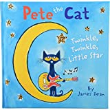"constructive playthings hr-162Pete el gato ""Twinkle Twinkle Little Star"", grado: Kindergarten a 2, 23.6cm de altura, 0.5"" de ancho, 23.5cm de largo"
