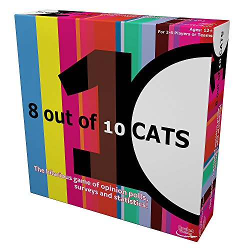 Rocket Games 8 Out of 10 Cats Board Game
