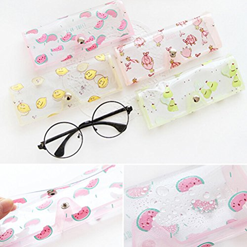 UNAKIM--Fruit Clear Sunglasses Glasses Case Spectacle Storage Protection Carry Box - Guide Size Spectacles