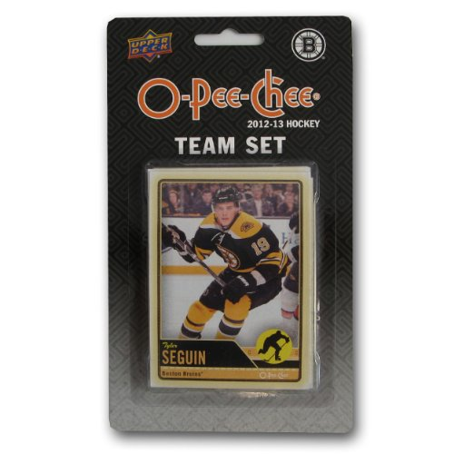 Upper Deck NHL Boston Bruins 2012/13 O-Pee-Chee Team Card Set (17 Cards)