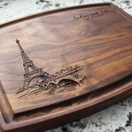 Paris Personalized Cutting Board