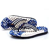 AODEW Men's Flip-Flops Light Weight Thong Sandals Massage Sole Non-Slip Beach Slippers