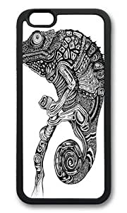 Apple Iphone 6 Case,WENJORS Cool Chameleon Soft Case Protective Shell Cell Phone Cover For Apple Iphone 6 (4.7 Inch) - TPU Black