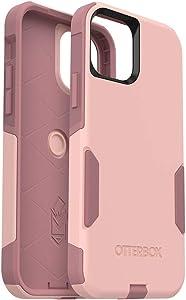 OtterBox Commuter Series Case for iPhone 12 & iPhone 12 Pro - Ballet Way (Pink Salt/Blush)