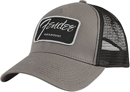 Music Music Black Cap - Fender Paramount Series Logo Hat - One Size
