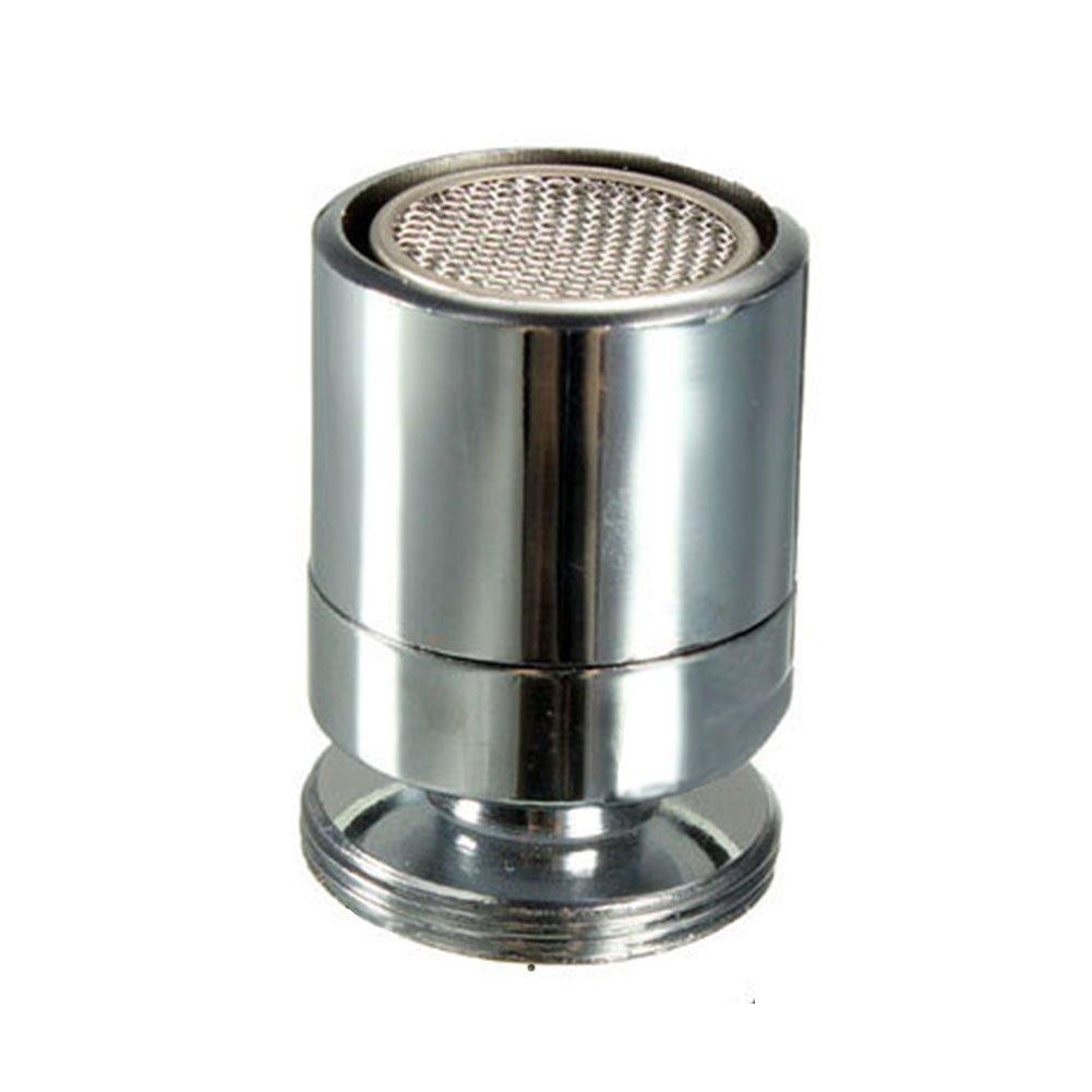 Aireador giratorio para tapó n de agua, 24 mm rosca macho para grifo aireadores-dispositivo de ahorro de agua de cocina bañ o (plata) 24 mm rosca macho para grifo aireadores-dispositivo de ahorro de agua de cocina baño (plata) GEZICHTA