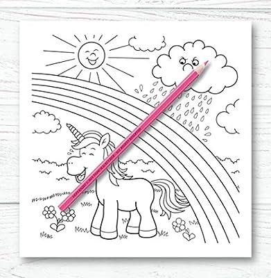 Unicornio Libro Para Colorear Para Ninos Y Adultos Bono