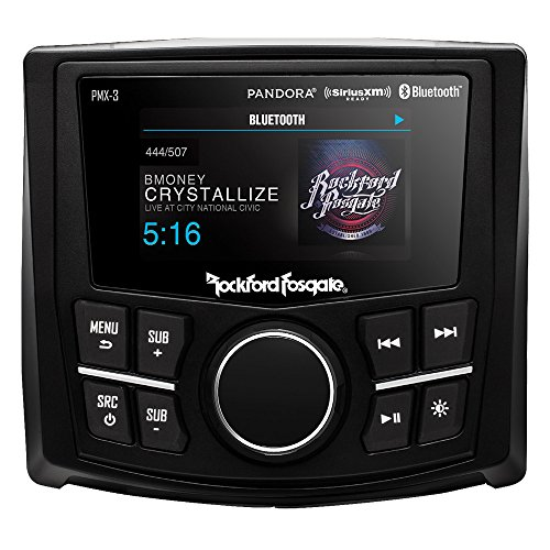 Rockford Fosgate PMX-3 Compact Digital Media Receiver w/ 2.7